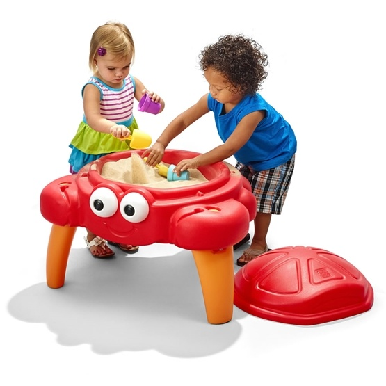 Step2 - Lekbord - Sandlåda Krabba