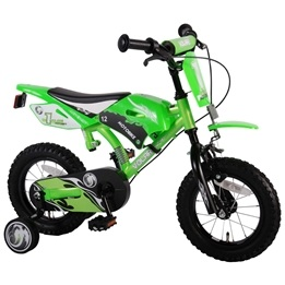 "Volare - Motor Bike 12""  - Satin Green"