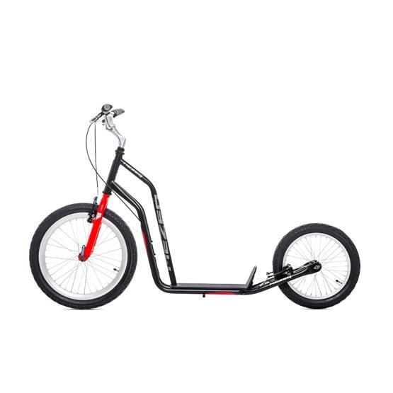 Yedoo - Sparkcykel Mezeq V-brake Black/red
