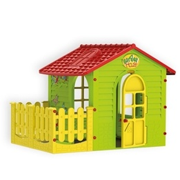 EliteToys - Lekhus - Garden House With Fence