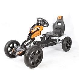 EliteToys - Gokart Thunder - Black