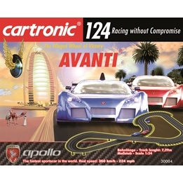 Cartronic Rc - 124 Slot Racing - Basic Sets - Avanti