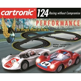 Cartronic Rc - 124 Slot Racing - Basic Sets - Performance