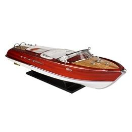 Cartronic -Seamaster Modellbåt- Riva Aquarama - Ca. 60 Cm - White