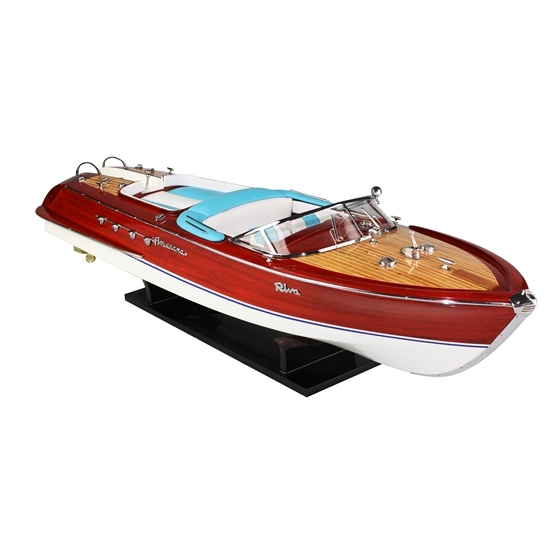 Cartronic -Seamaster Modellbåt- Riva Aquarama - Ca. 60 Cm - Blue
