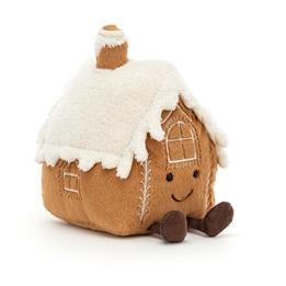 Jellycat - Gosedjur Amuseable Gingerbread House