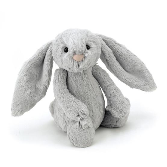 Jellycat - Bashful Silver Bunny