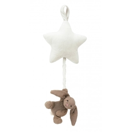 Jellycat - Bashful Beige Bunny Star Musical