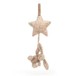 Jellycat - Speldosa Blossom Bea Beige Bunny Musical Pull