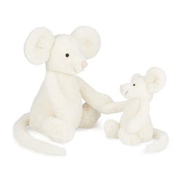 Jellycat - Bashful Cream Mouse