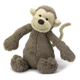 Jellycat - Gosedjur - Bashful Monkey