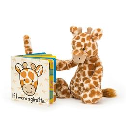 Jellycat - If I were a Giraffe Board Book