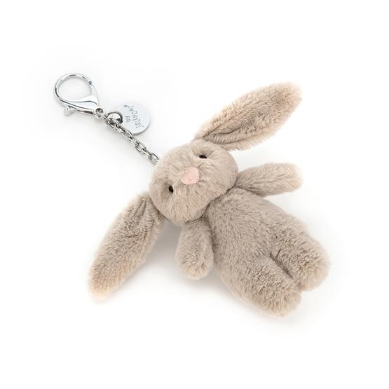 Jellycat - Bashful Bunny Beige Bag Charm