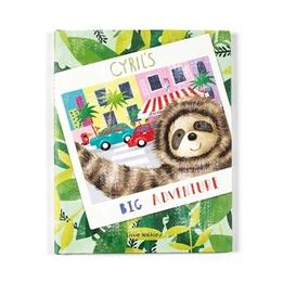 Jellycat - Cyril´s Big Adventure Book