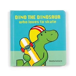 Jellycat - Dino The Dinosaur Who Loves to Skate Book