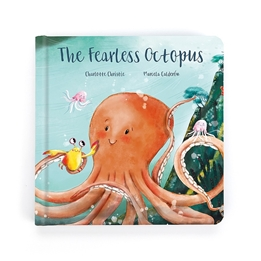 Jellycat - The fearless Octopus Book