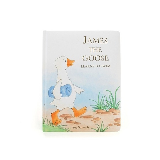 Jellycat - James The Goose Book