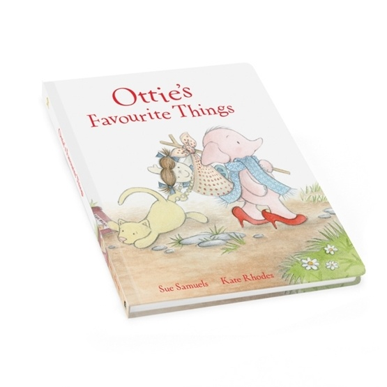 Jellycat - Ottie´S Favourite Things Book