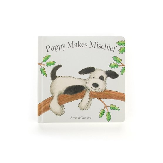 Jellycat - Puppy Makes Mischief Book
