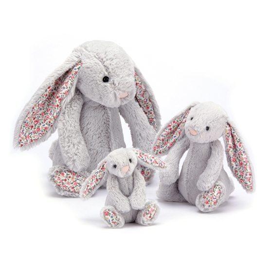 Jellycat - Blossom Silver Bunny