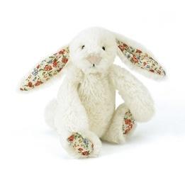 Jellycat - Bashful Blossom Cream Bunny Baby