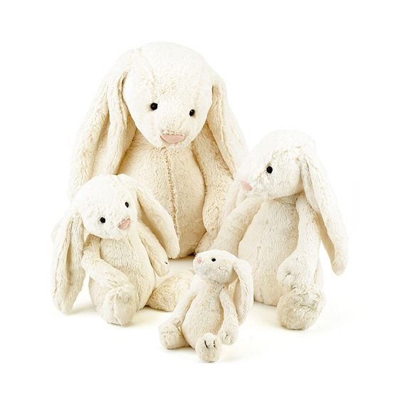Jellycat - Bashful Cream Bunny