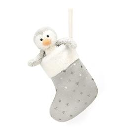 Jellycat - Julstrumpa - Bashful Penguin Stocking