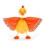 Jellycat - Snuttefilt - Flapper Duck Soother