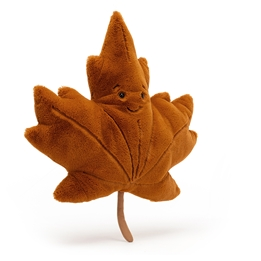 Jellycat - Gosedjur Woodland Maple Leaf Large