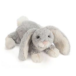Jellycat - Loppy Silver Bunny