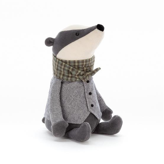 Jellycat - Gosedjur - Riverside Rambler Badger