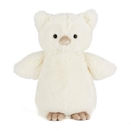 Jellycat - Snowy Owl Rattle