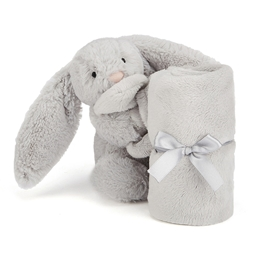 Jellycat - Bashful Silver Bunny Soother