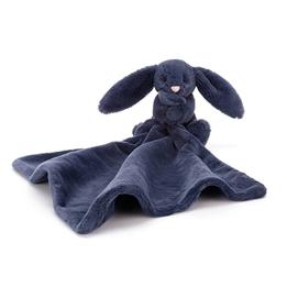 Jellycat - Snuttefilt Bashful Navy Bunny Soother