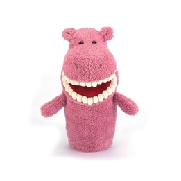 Jellycat - Toothy Hippo Handpuppet