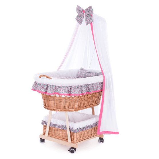 Kaxholmen - Babykorg Rosa Exklusiv