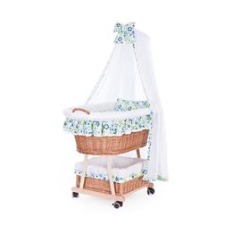 Kaxholmen - Babykorg Blå-Grön Exklusiv