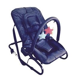 Kaxholmen - Babysitter Med Lekbåge Och Huvudkudde - Svart