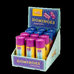 Keycraft - Spel - Dominoes in Tube
