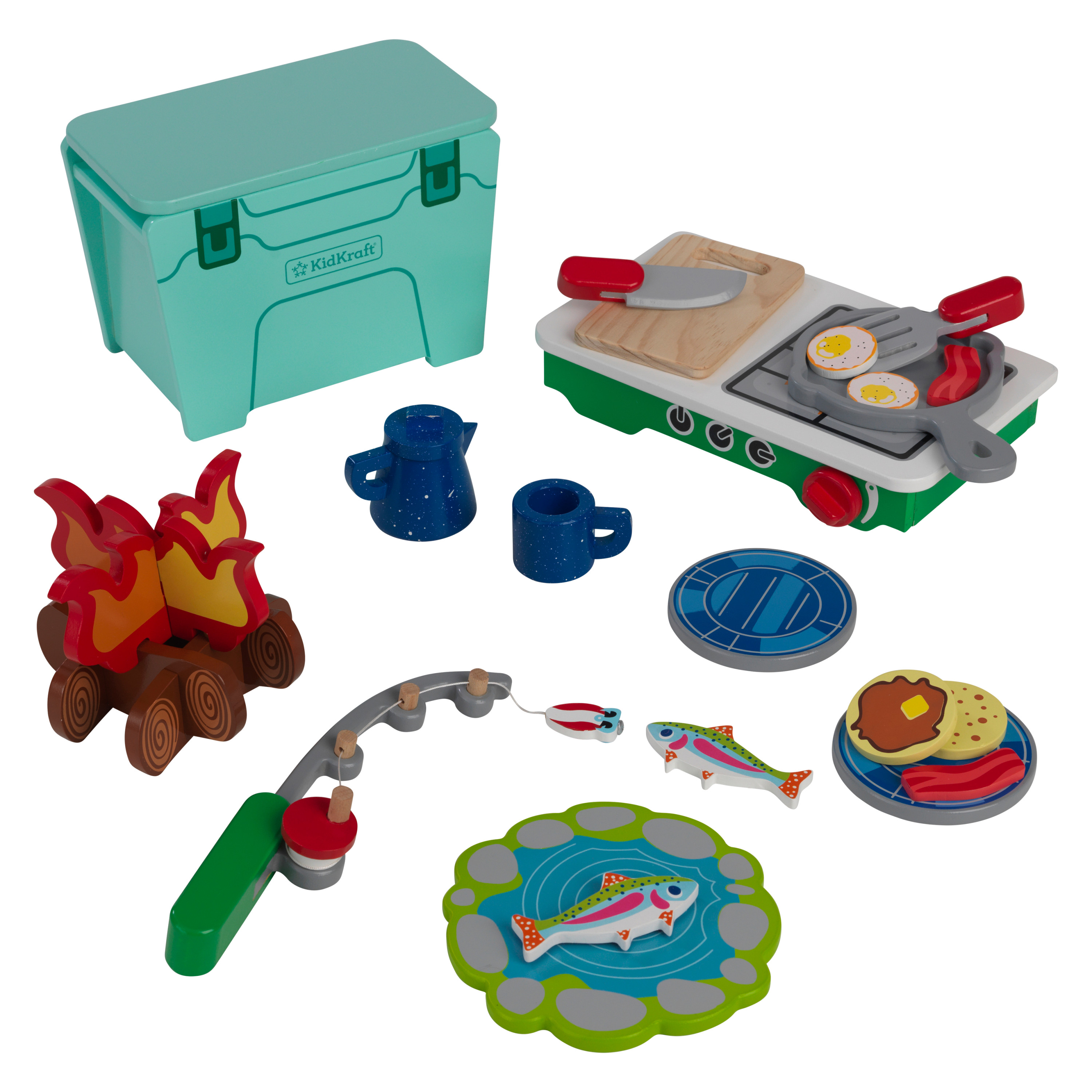 Kidkraft - Lets Pretend: Camping Cookout