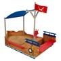 Kidkraft - Sandlåda / Sandbåt Pirat