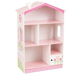 Kidkraft - Bokhylla - Dollhouse Cottage Bookcase