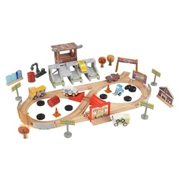 Kidkraft - Tågbana - Disney® Pixar Cars 3 Thunder Hollow Track Set