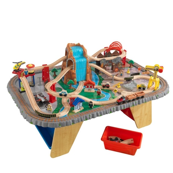 Kidkraft - Tågbana - Waterfall Junction Train Table