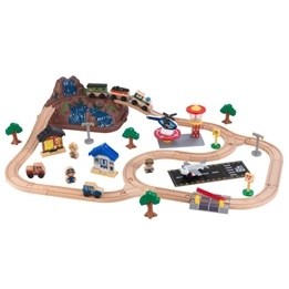 Kidkraft - Tågbana - Bucket Top Mountain Train Set