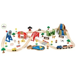 Kidkraft - Tågbana - Farm Train Set