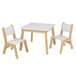 Kidkraft - Bord Och Stolar - Modern Table & 2 Chairs Set
