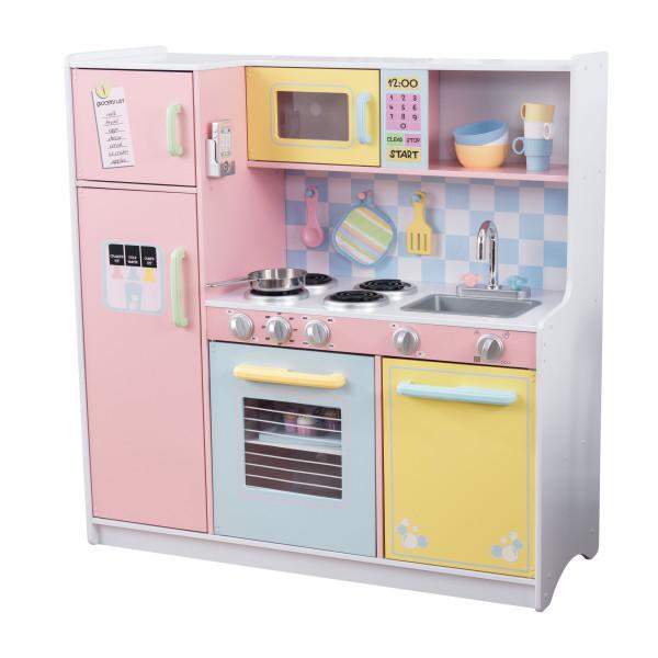 Kidkraft Barnk 246 K Large Pastel Kitchen Litenleker Se