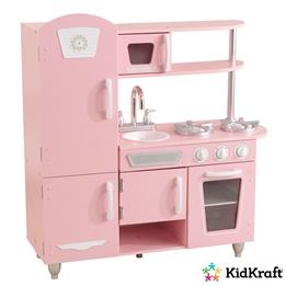 Kidkraft - Barnkök - Vintage Kitchen - Pink