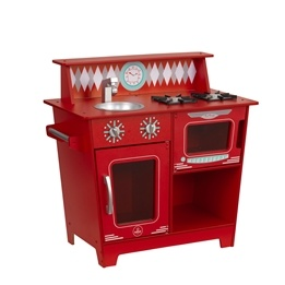 Kidkraft - Barnkök - Classic Kitchenette - Red